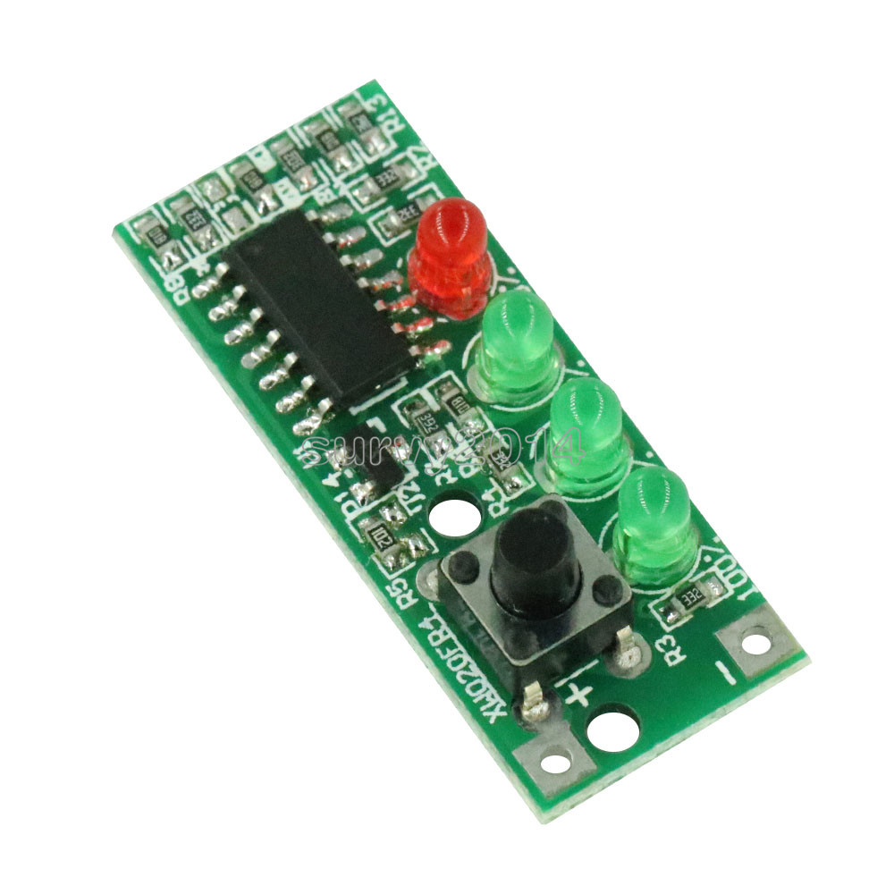 Battery Capacity Indicator 4 LEDs Display For 3S 9-12.6V Battery