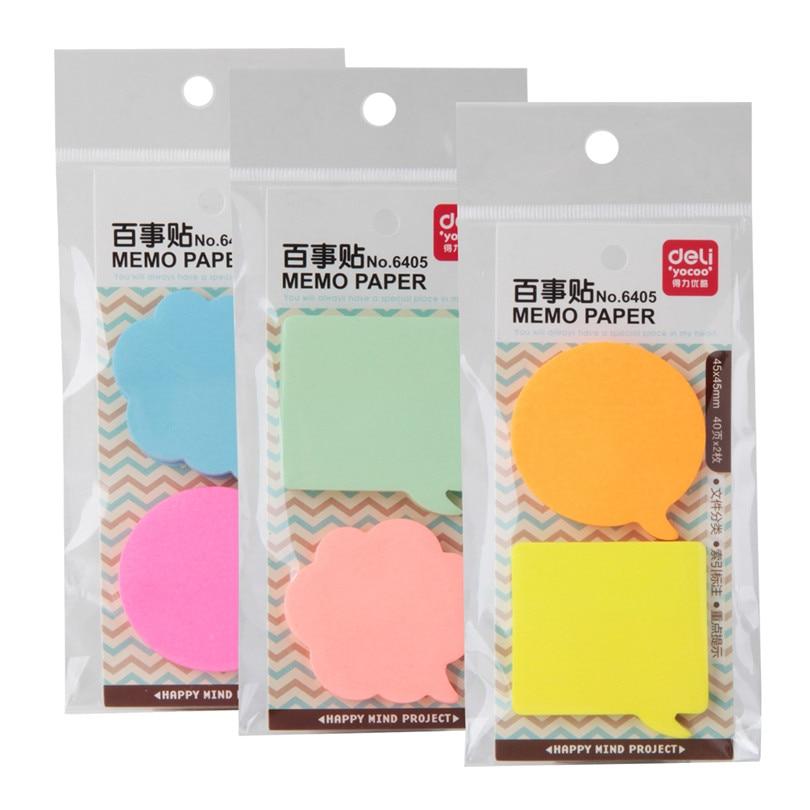 3 Kind Memo Pads Autocolante Autocolante Sticky Notes Fiecare pachet - Blocnotesuri și registre - Fotografie 5