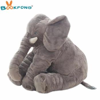 304c47304f6 40cm 60cm Large Plush Elephant Doll Kids Sleeping Soft Back Cushion Cute  Stuffed Elephant Baby Accompany Doll Xmas Gift