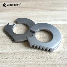 10 PCS NEW EDC GEAR Pocket Knife steel Outdoor camping survival tools Camping Mini Military Sharp Eye