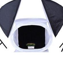 80X80X80CM Foldable Photo Studio Shooting Tent Softbox For Photography Soft box kits Photo Light Tent+Portable Bag+4 Backdrops