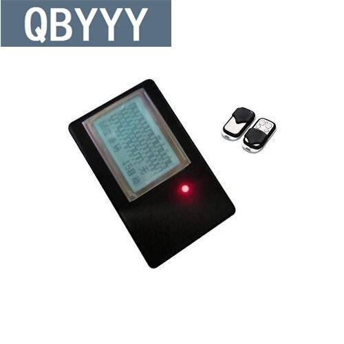 QBYYY rolando código auto scanner detector de dispositivo de decodificação de controle remoto abridor de porta + A315 auto chave de controle remoto clone