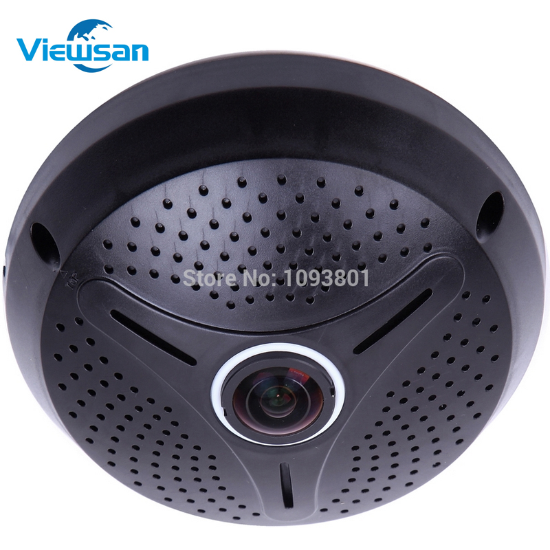 Hot 360degree panoramic camera 1 3MP 960P Fisheye Camera with software support 9 screen support SD