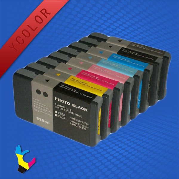 Compatible One Time Use Ink Cartridge for Epson Pro7800 9800 with Pigment Ink