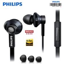 Philips Original Tx1 HiRes Earphone High Resolution HIFI Fever Earbuds Ear Noise Canceling earphones For Samsung Xiaomi Phone