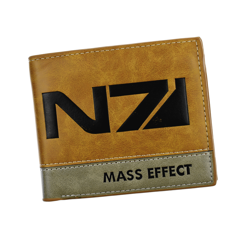 Free Shipping Hot Game Wallet Game Mass Effect / Assassin's Creed / Sward Art Online / Zelda / Undertale Short Purse Men Wallets anime game super mario synthetic leather short exquisite wallet button purse free shipping