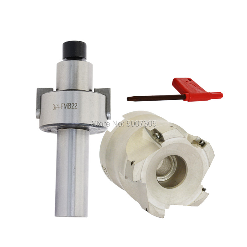 C12 16 20 25 3/4 FMB22 FMB22 Toolholder Adapter + 300R 400R 50 22 -5T Face Milling CNC Tool Right Angle For Power Tools