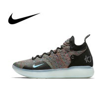 Nike Original Authentic ZOOM KD11 EP Men's Basketball Shoes Breathable Sport Outdoor Comfortable Hard Court Sneakers AO2605