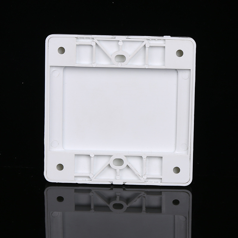 4pcs PVC Plastic Home Improvement Junction Box Flame Retardant Box Protective Cover Engineering Construction Anti-electric Shock