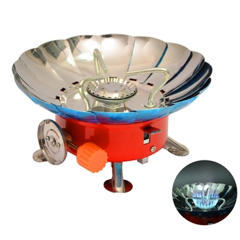 2019 Windproof Stove Cooker Cookware Gas Burners For Camping Picnic Cookout BBQ Outdoor Tools цена 2017