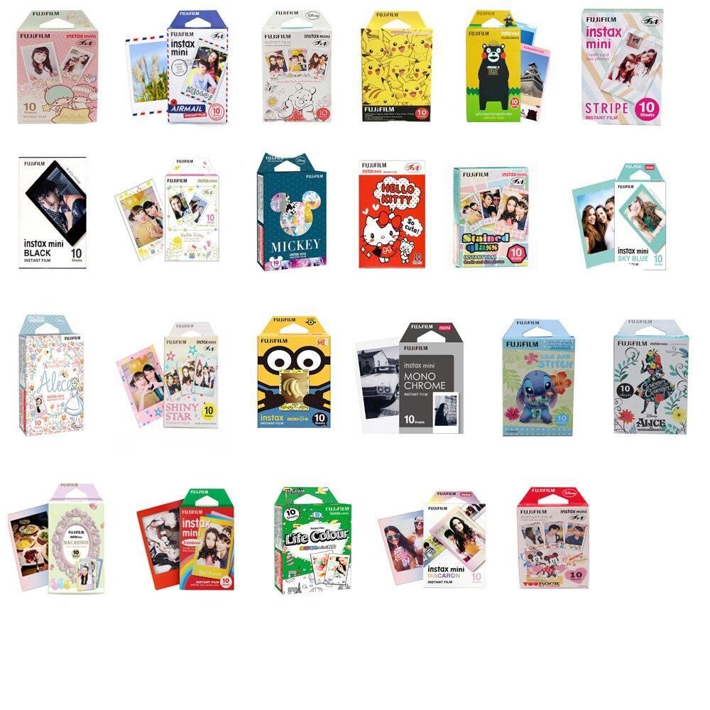 Original fujifilm instax mini filme instantâneo dos desenhos animados mini filme fuji instax para polaroid mini 7s 8 9 25 50s 90 SP-1 2 checky qiao