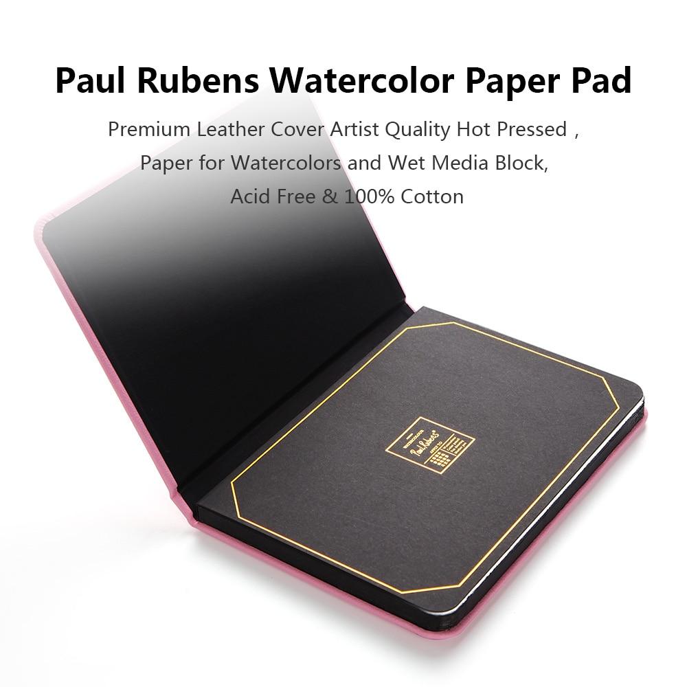 Paul Rubens 100/% Cotton Watercolor Sketchbook Travel Art Journal Watercolor