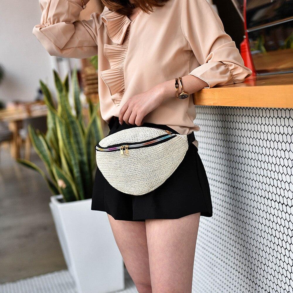 Aelicy Neue 2018 Frauen Designer Taille Tasche Brust Tasche Weibliche Luxus Marke Weave Taille Pack Damen Mode Brief Gürtel Schulter tasche