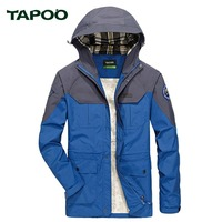 TAPOO 2018 Spring Summer Men S Jacket Casual Military Windproof Outerwear Men Autumn Waterproof Plus Size