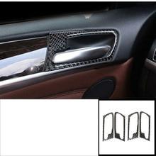 lsrtw2017 carbon fiber car door interior handle frame trims for bmw x5 x6 e70 e71 2006 2007 2008 2009 2010 2011 2012 2013 цена и фото