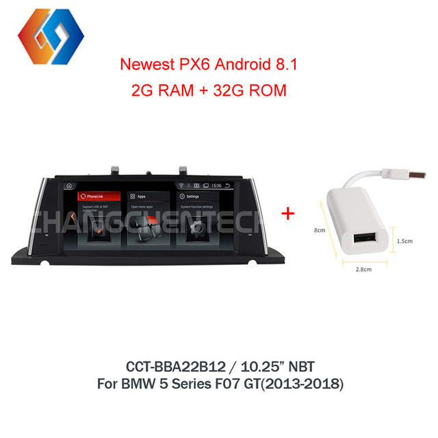Android 8.1 GPS Navigation Multimedia Radio For BMW 5 Series F07 GT(2013-2017) NBT System EVO UI Bluetooth Stereo WiFi Unit12