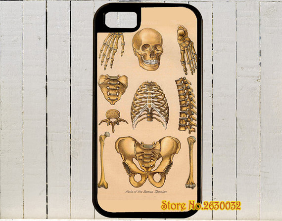 Antique Anatomical Drawings Of The Parts Of A Skeleton case for samsung galaxy s3 s4 s5 s6 s7 s6 edge s7 edge note 3 4 5 #yd81