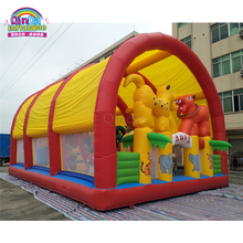 Outdoor playground kids inflatable bouncers, party inflatable jumping bouncy castles made in china