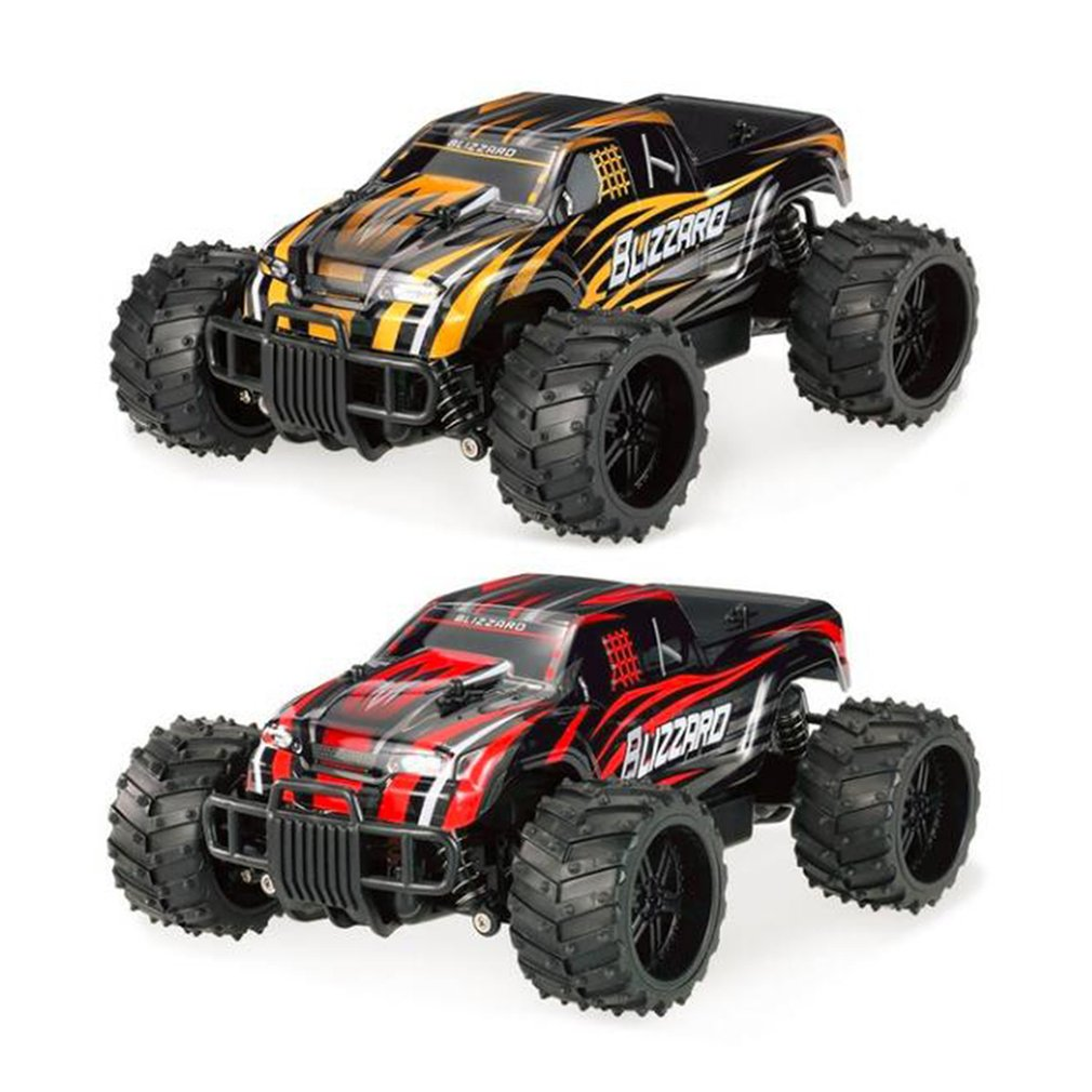 Original Mini RC Car Simulation Off-road Monster RC Remote Control Cars SUV S727 27MHz 1:16 20km/h Boys Racing Model Toys Gifts