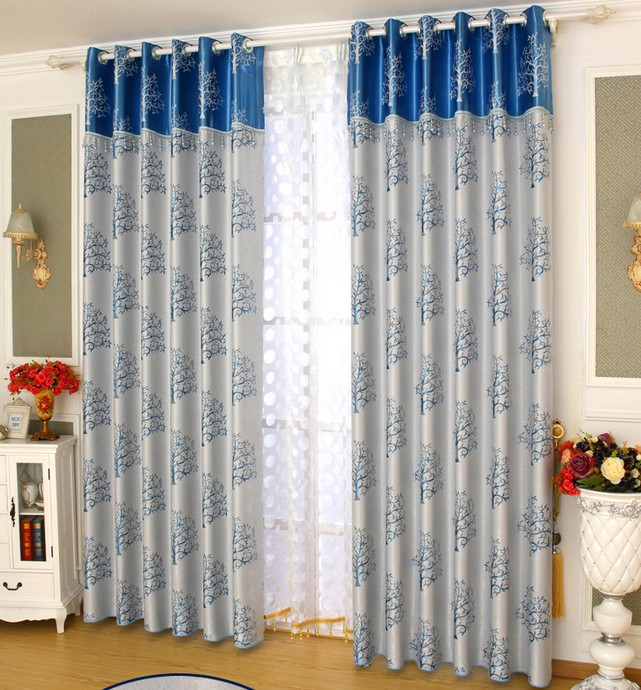 Nice Blackout Curtain With Rings Or Hooks,free Triming For Different Size ,1654  ,ready Curtains And Voile,curtain Decor In Curtains From Home U0026 Garden On  ...