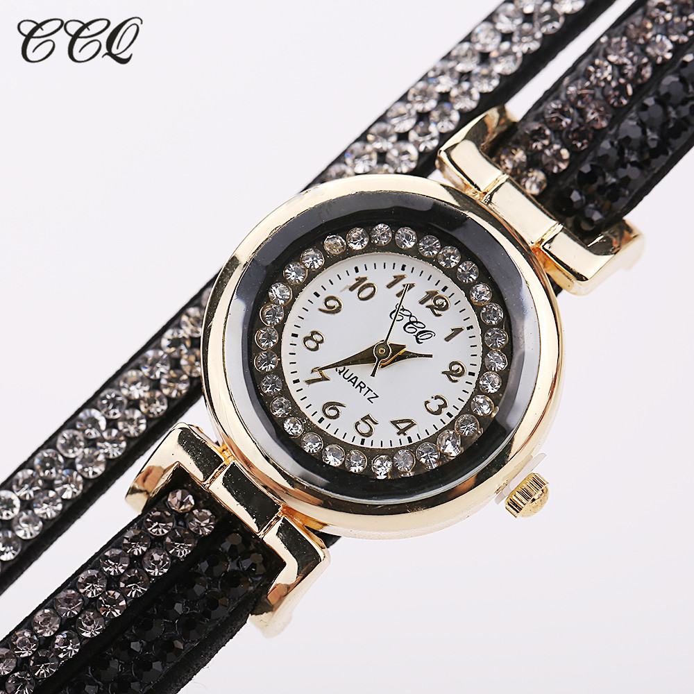 Fashion Casual Quartz Women - Watch Braided Leather Bracelet Watch Gift 4