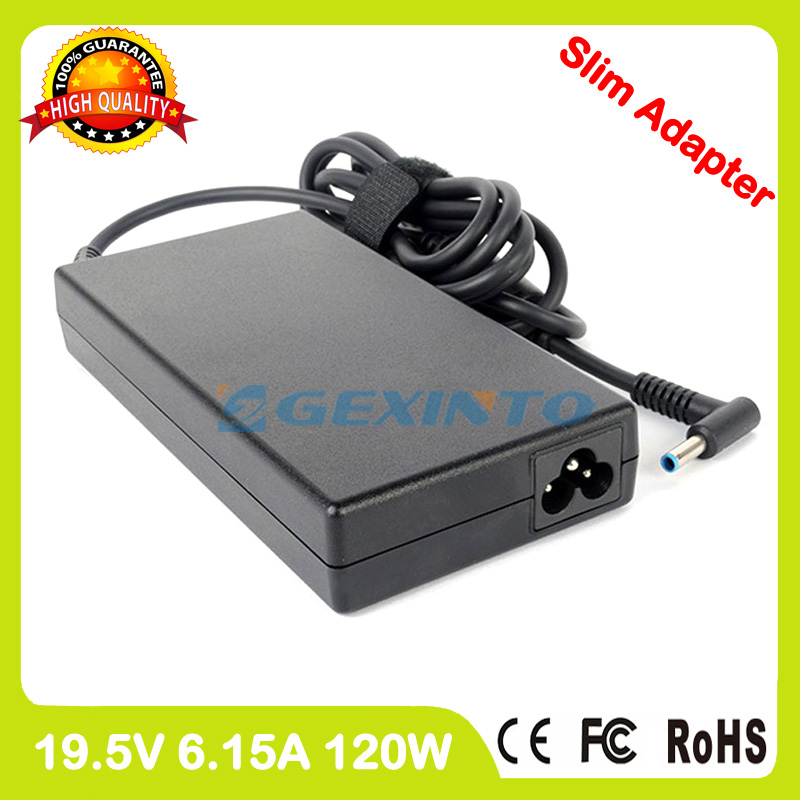 Slim ac adapter 19.5V 6.15A laptop charger for HP Omen 15 ax000 15t ax000 Gaming
