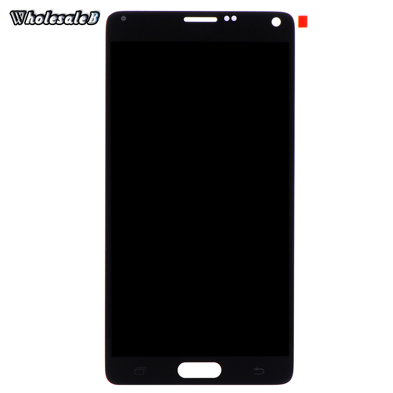 Black LCD Display Samsung Note 4 Touch Screen Digitizer Galaxy N910 N910A N910V N91 Free Ship SAM980 - HiGoing Store store