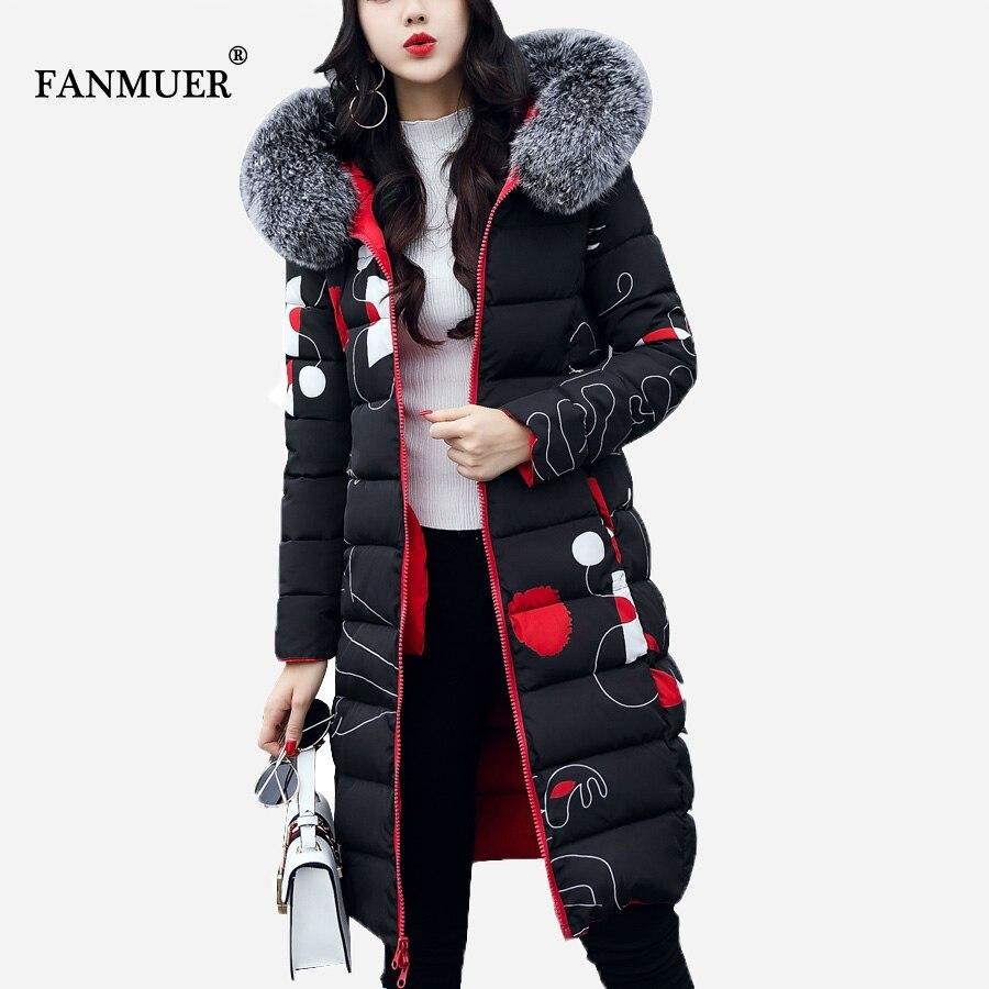 Winter jacket women 2018 New arrival print   parka   ladies coats winter coat women clothing casacos de inverno feminino coat women