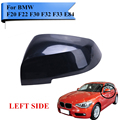 Left Side Mirror Cover Caps For BMW F20 F22 F30 F32 F33 E84 228 320 328 330 420 435 X1 Rearview Mirror Cap Replacement #W029-1