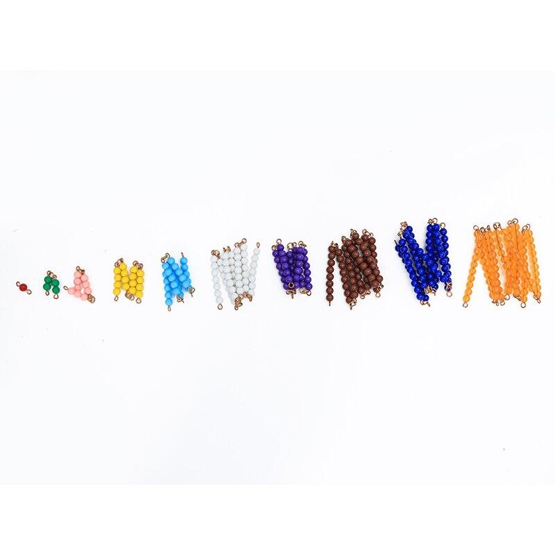 Montessori enfants jouet bébé ensemble de perles matériaux préscolaire Brinquedos Juguets - 2