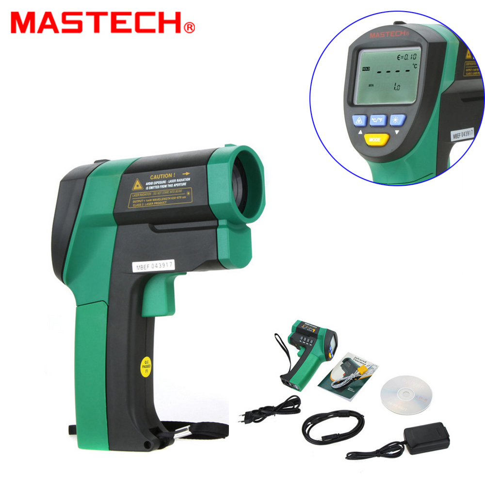 MASTECH MS6550A Professional High Precision Auto range Non contact Infrared Thermometer IR Temperature Tester 32C to
