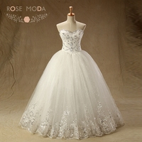 Rose Moda Delicate Crystal Beaded Quinceanera Dresses with Ball Skirt White Ivory Debutante Dresses Lace Dress for Age 18