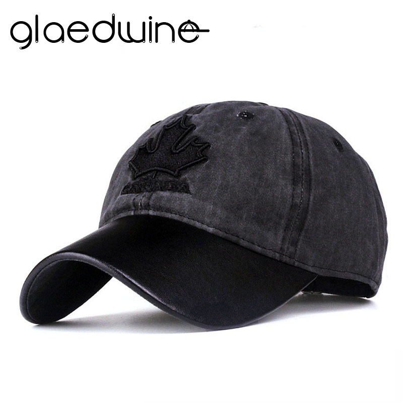 Glaedwine High quality women baseball cap canada embroidery Letter snapback hat for men caps casquette gorras men dad hat new fashion high quality casual cotton baseball cap women men gorras snapback letter embroidery outdoor sun hat th 022