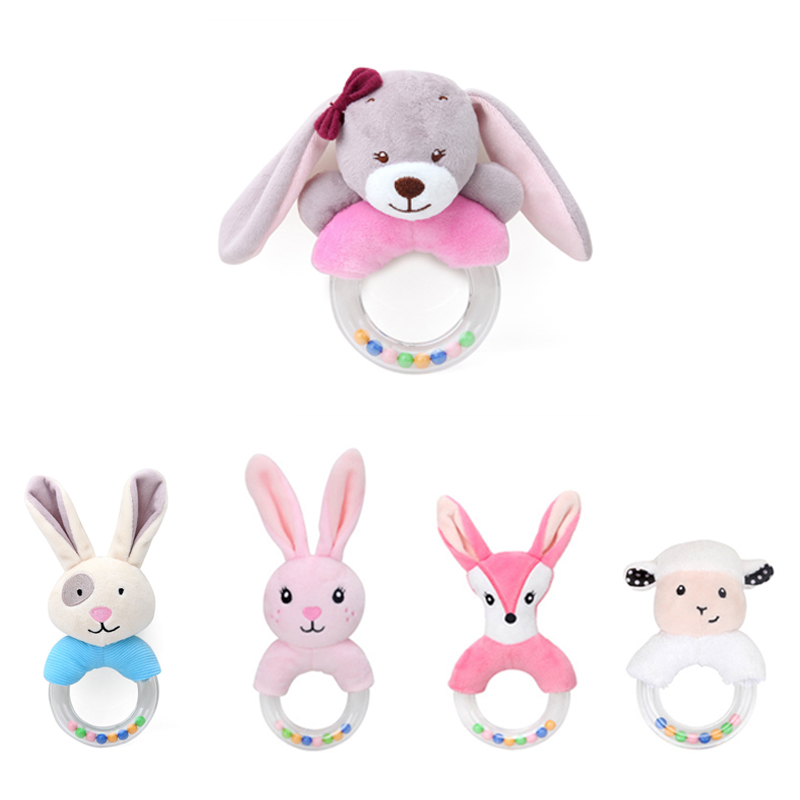 Baby Rattles & Mobiles New Baby Toys Speelgoed Newborn Rattle Baby Toys 0-12 Months Cute Bunny Plush Toy Toddler Musical Mobile Educational Toys Beautiful And Charming Toys & Hobbies