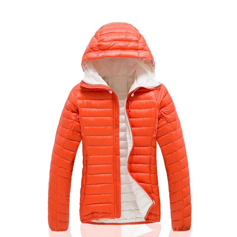 Puffer Outdoor Hiking Climbing Ultra Light Duck Down Jacket Women ...