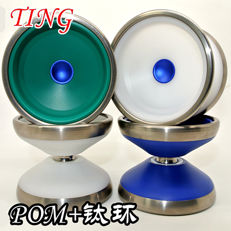 New Arrive YOYO Empire Ting2 yoyo CNC titanium ring Yoyo for Professional yo-yo player Titaniuml and POM Material Classic Toys new arrive yoyo empire big bang yoyo cnc yoyo for professional yo yo player professional advanced ball pom material