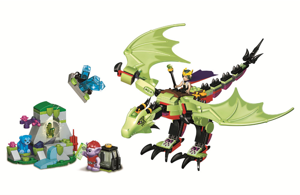 BELA Elves The Goblin Kings Evil DRAGON Building Blocks Sets Bricks Classic For Girl Friends Kids Model Toys Compatible Legoings kazi 608pcs pirates armada flagship building blocks brinquedos caribbean warship sets the black pearl compatible with bricks
