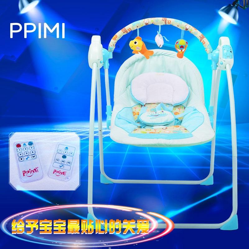 Baby Schommelstoel Automatisch.Us 111 75 25 Off Primi Elektrische Schommel Kind Baby Intelligente Concentretor Baby Schommelstoel Placarders Chaise Lounge Automatische Wieg