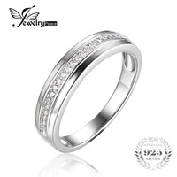 100 925 Sterling Silver Classic European And American Classic Anniversary Rings Fine Jewelry And Best Gift