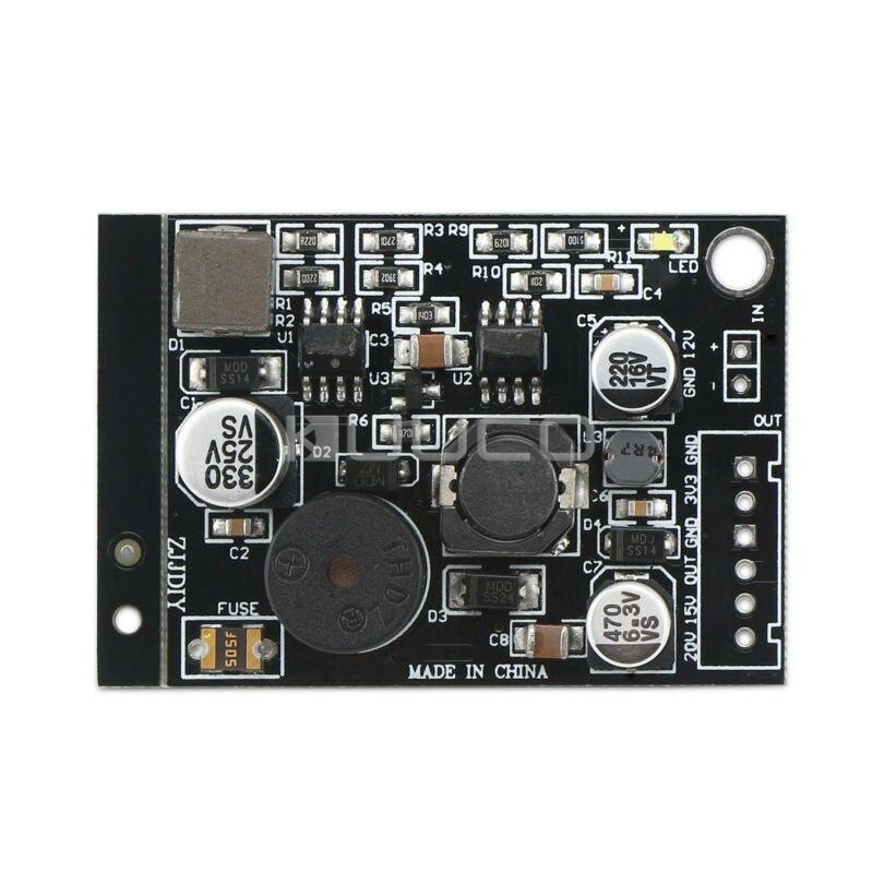 Module dalimentation cc 6 ~ 15V à 3.3V/15V/20V régulateur de tension/pilote pour décodeur/voiture/panneau de transport satellite