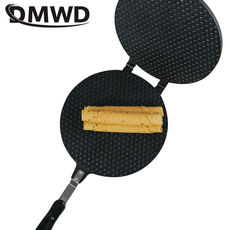 DWMD egg roll maker ice cream cone maker non-stick accessories crispy eggs omelet mold  waffle cake baking pan bakeware tools