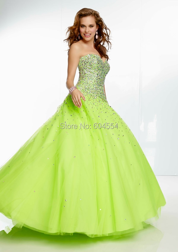 Bright Blue Prom Dress Promotion-Shop for Promotional Bright Blue ...