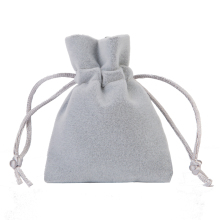 Free Shipping wholesale Green Color 9*12cm Thickening Soft Velvet Drawstring Pouch Bag/Jewelry Bag
