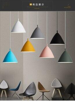 Moderne LED Hanglampen Multicolor eetkamer Restaurant Lamp Schakelaar Hanger Lampen Twisted Draad Thuis Decration Verlichting E27