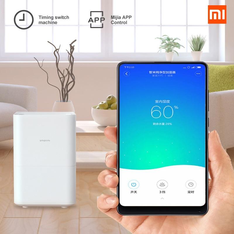 Original Xiaomi Smartmi Air Humidifier 2 Smog free Mist free Pure Evaporate Natural Air Humidity Mute