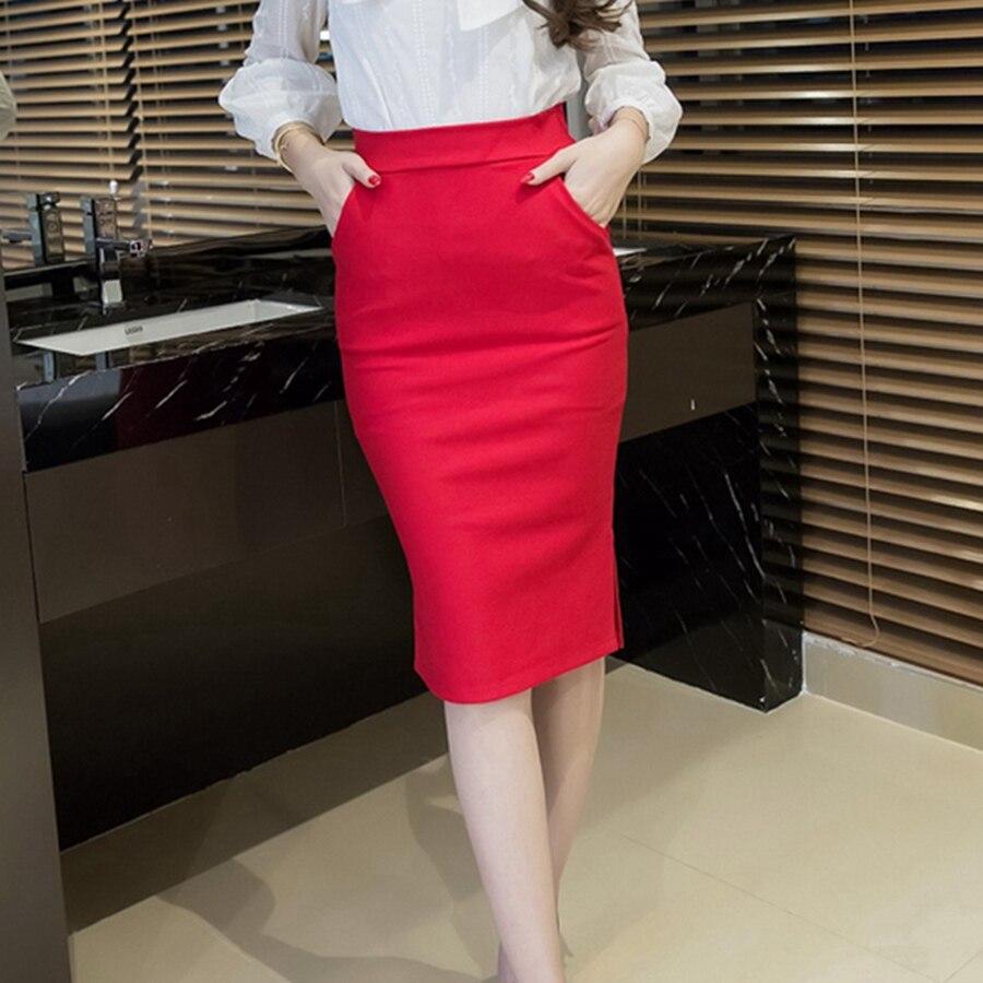 2018 Σέξι φόρμα γυναικών φούστα Slim Bodycon - Γυναικείος ρουχισμός - Φωτογραφία 5