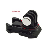 360 องศาRotate QUICK RELEASE BUCKLEพื้นผิวแนวตั้งสำหรับXiaomi Yi Action Cameraสำหรับกล้องGoPro HERO 7/6/5/4/3 SJCAM SJ4000