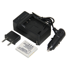 NP-40 Hot Sale 1pcs Battery + Charger NP 40 NP40 Rechargeable Camera Battery For FUJIFILM FUJI V10 F810 Z3 F650