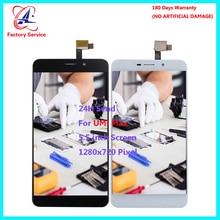 Для Оригинальный UMI Max ЖК-дисплей Экран Дисплей + Сенсорный экран Узел датчика Digitizer Замена 100% Тесты 5,5 «1920×1080 P в наличии