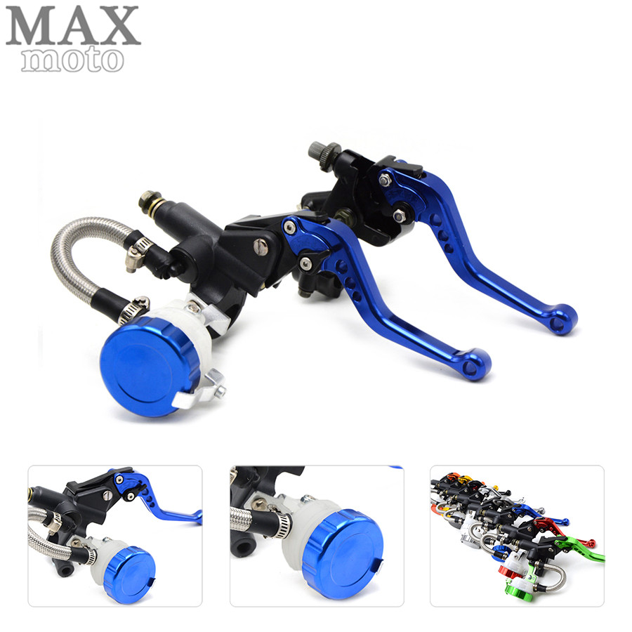 free shipping motorcycle CNC Aluminum Adjustable brake clutch levers & brake pump For Aprilia CAPONORD / ETV1000 2002-2007